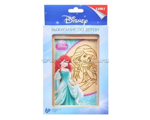 """Выжигание Disney в рамке 10*15 """"Принцесса Ариэль"""""""