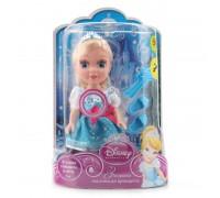 Кукла Disney Princess Золушка 15см , озвуч., с аксесс