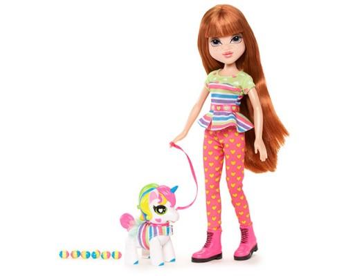 Кукла Moxie С питомцем, Келлан+Единорог